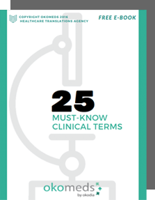 25 Must-know Clinical Terms